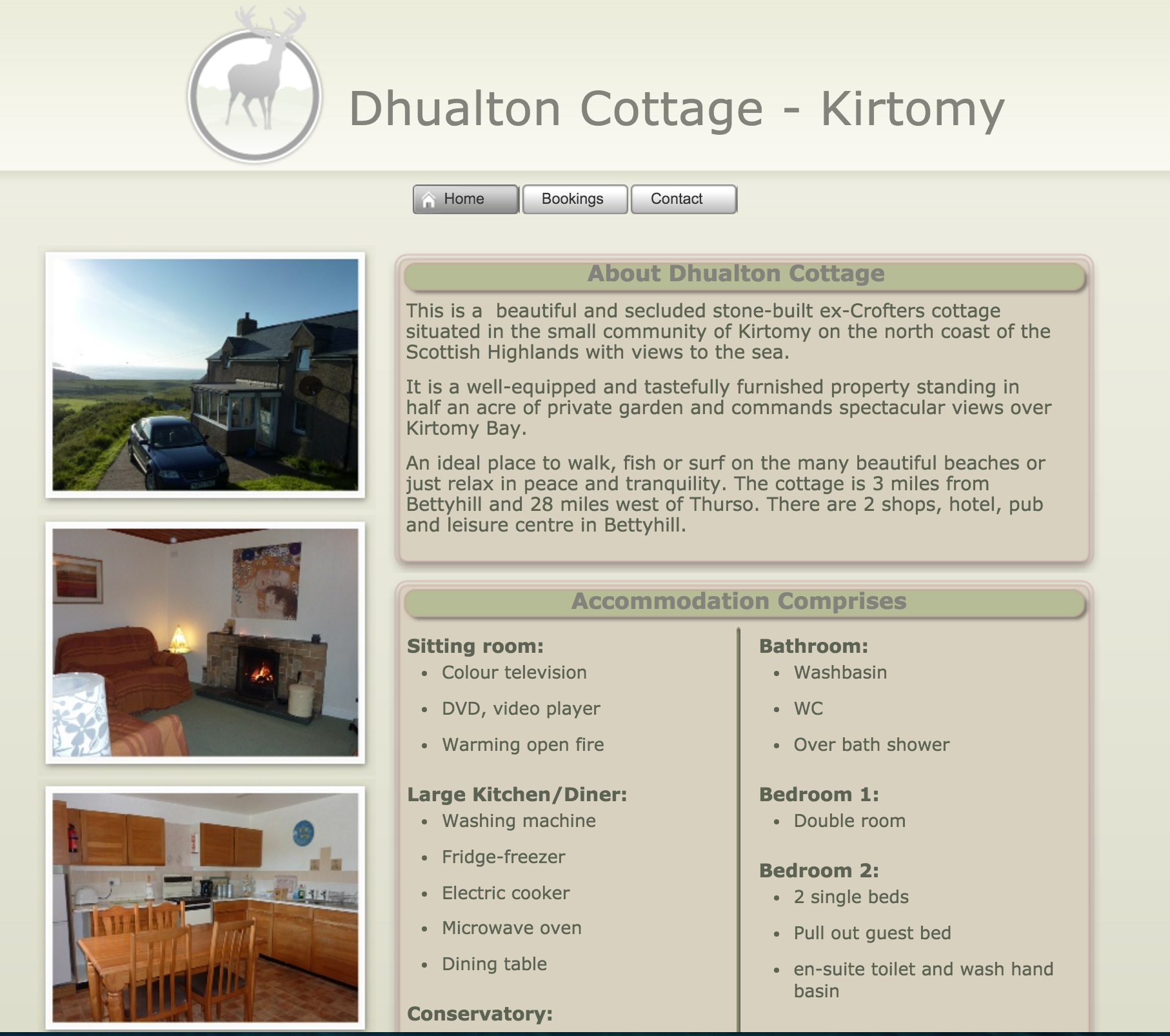 Dhualton Cottage - Kirtomy